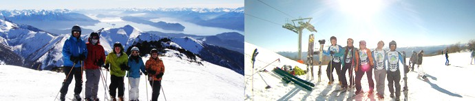 21 day Ski Tour With Our Brazilian Clients