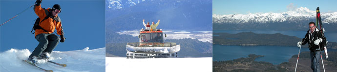 Amity`s Ski Tours around the Lake and Volcano District of Chile and Argentina