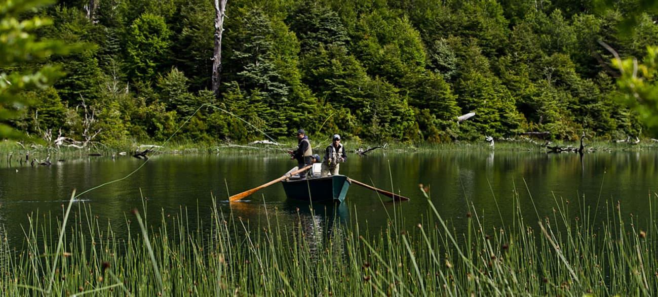 Guru of Fly Fishing at Lake and Volcano District