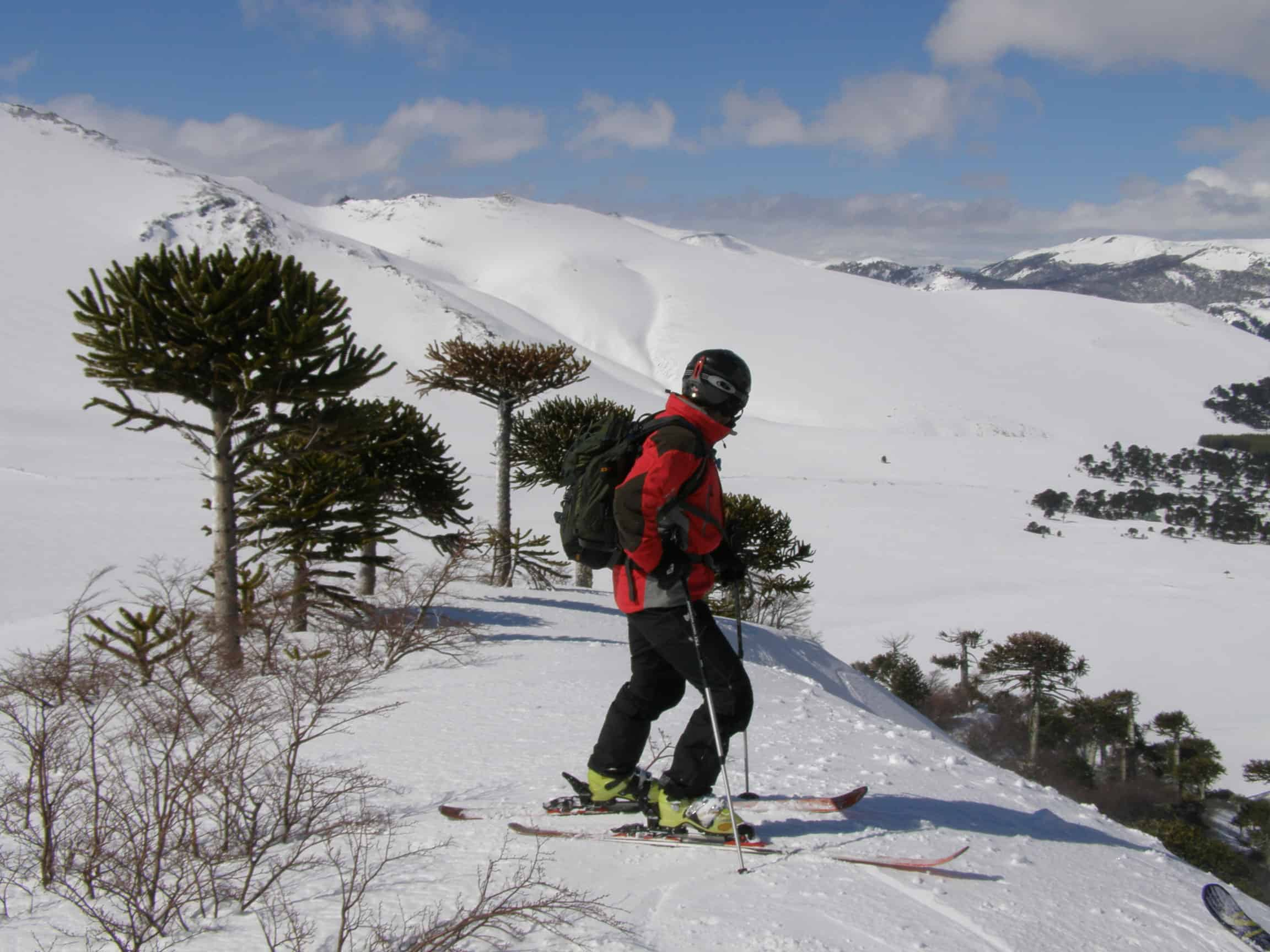 Summer Skiing in Chile, July and August 2014