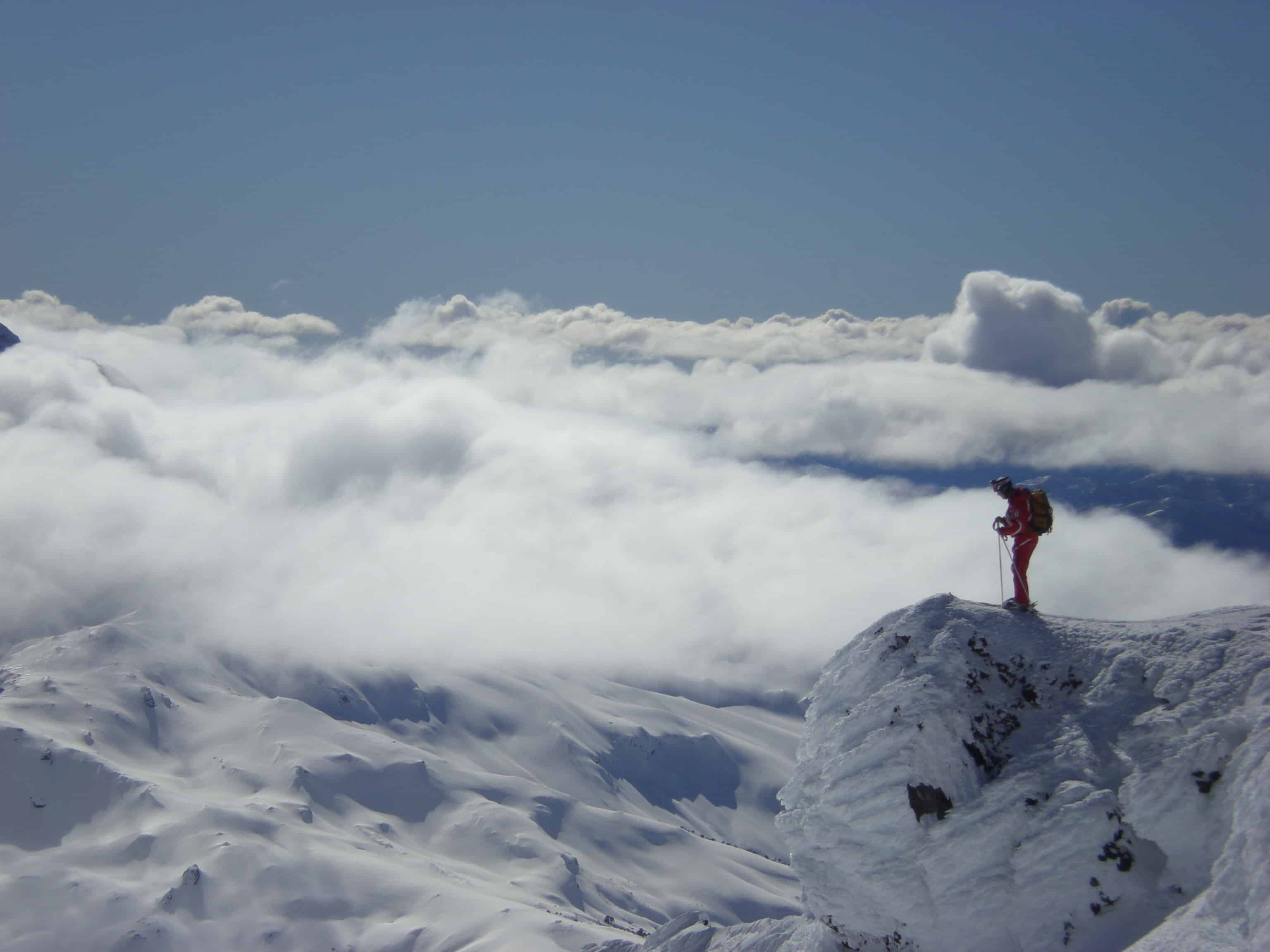 Summer Adventure Backcountry Skiing in Chile, September 2014