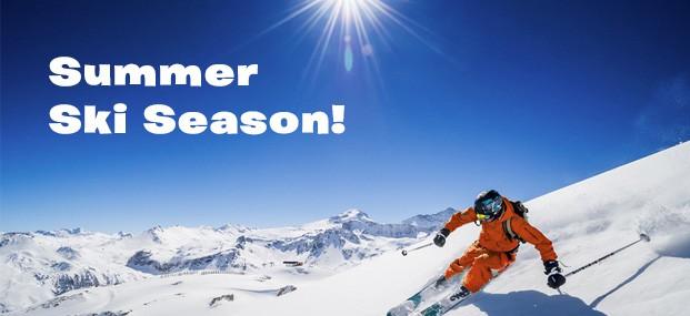 The Summer Skiing Season is Coming