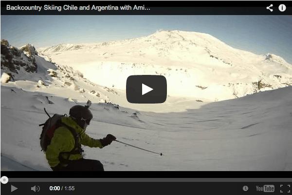 Summer Skiing in South America – Backcountry Skiing Chile and Argentina