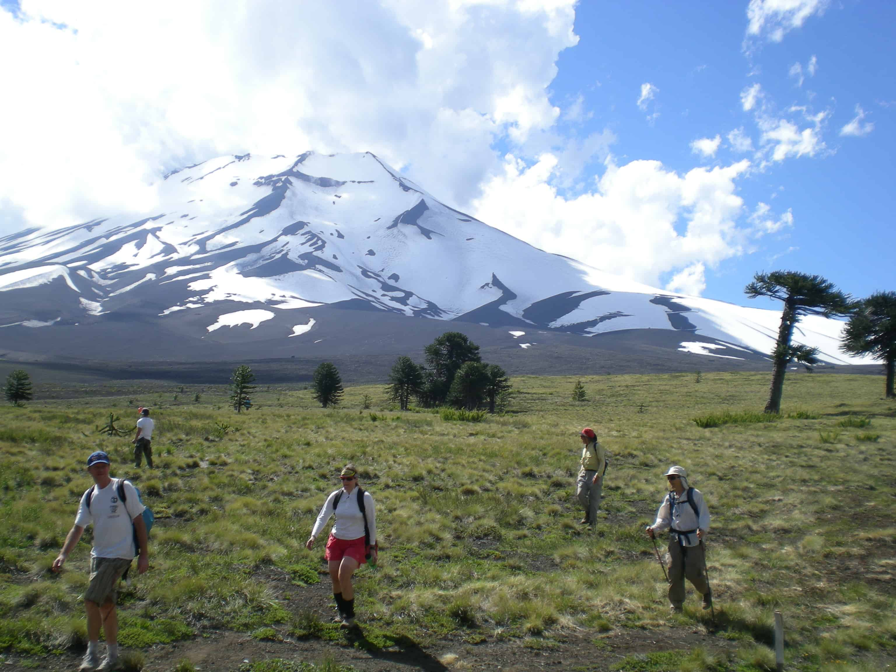 Special Departure Chile 6 days Bike and Hike in the Araucarias Biosphere Reserve Tour November 2014