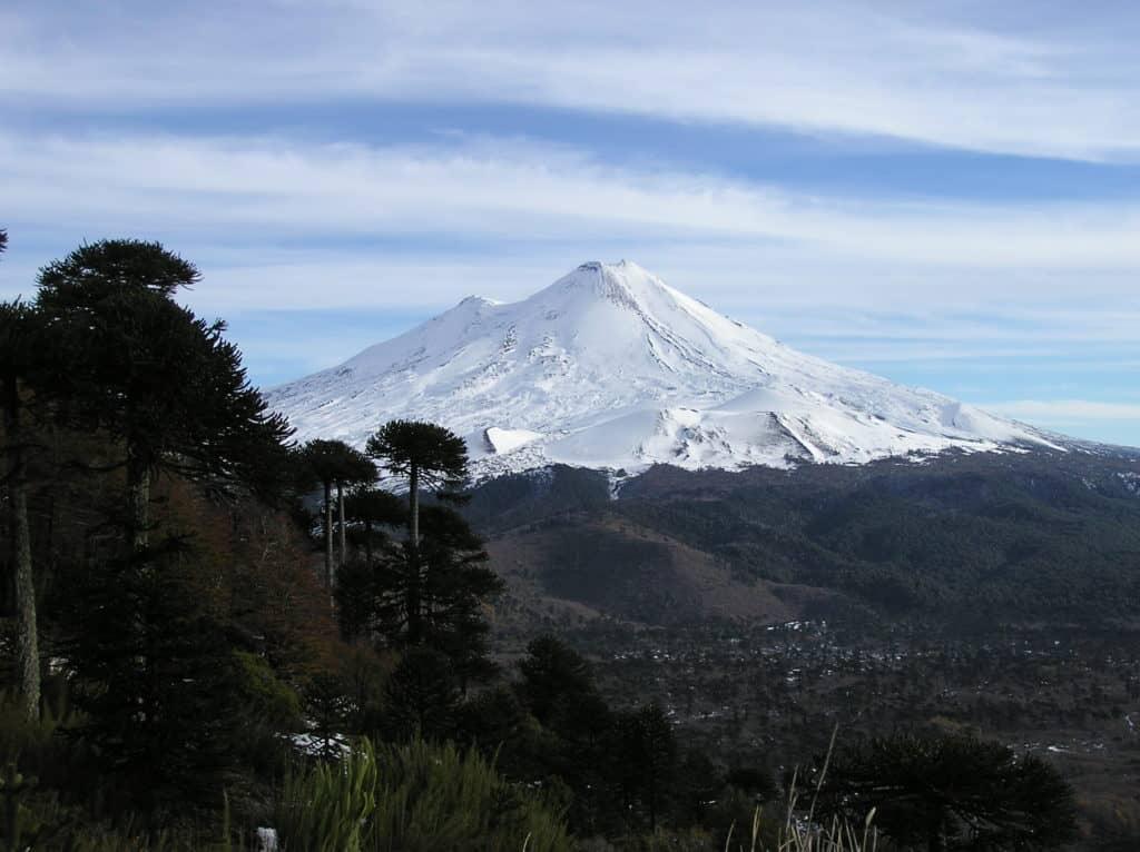 Randonnée au Parc National Conguillío Chili