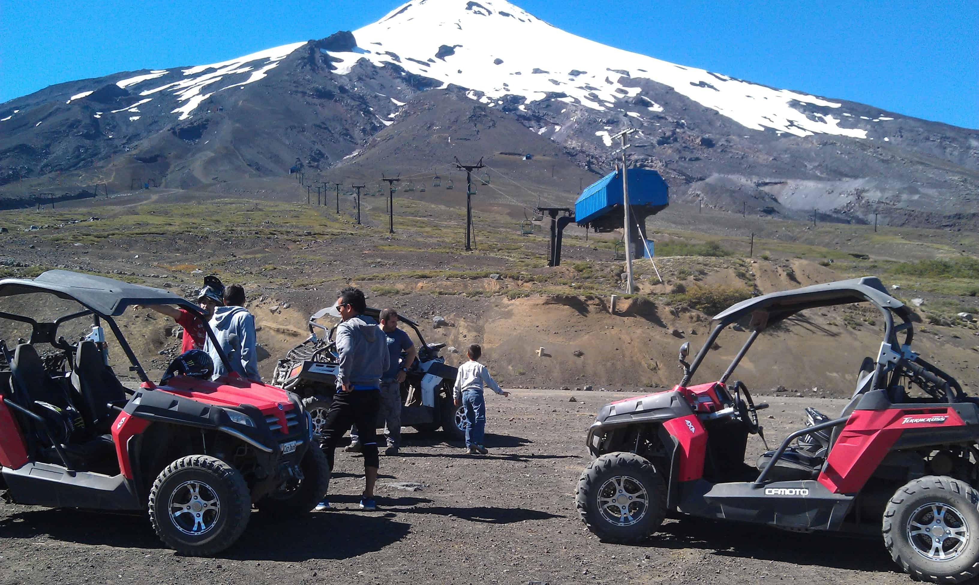 Unter einem verstaubten Gesicht, findet man ein ganz breites Lächeln – Buggy Tour zum Vulkan Villarrica – Februar 2015