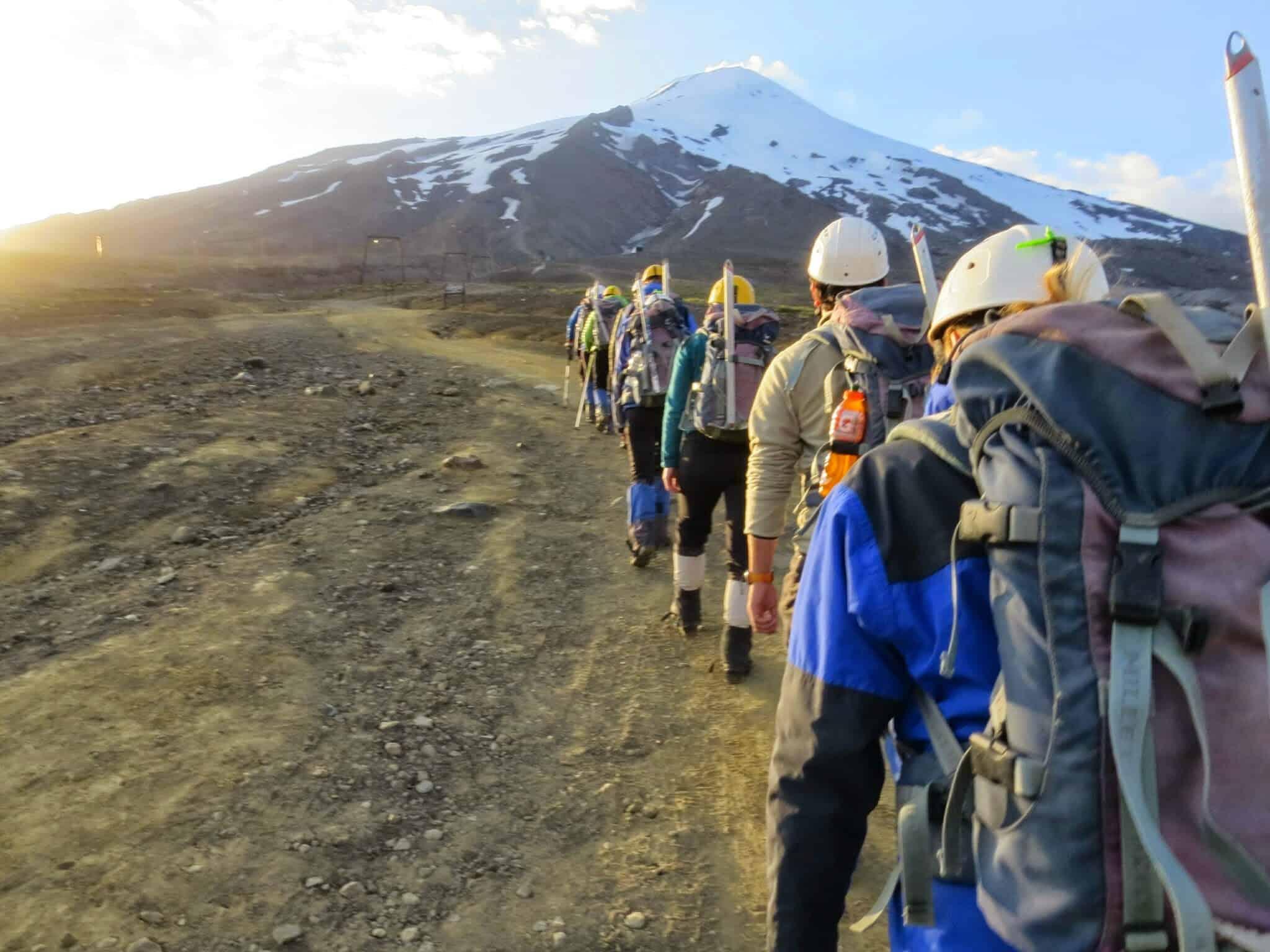 Der Vulkan Villarrica – atem(be)raubend – Januar 2015