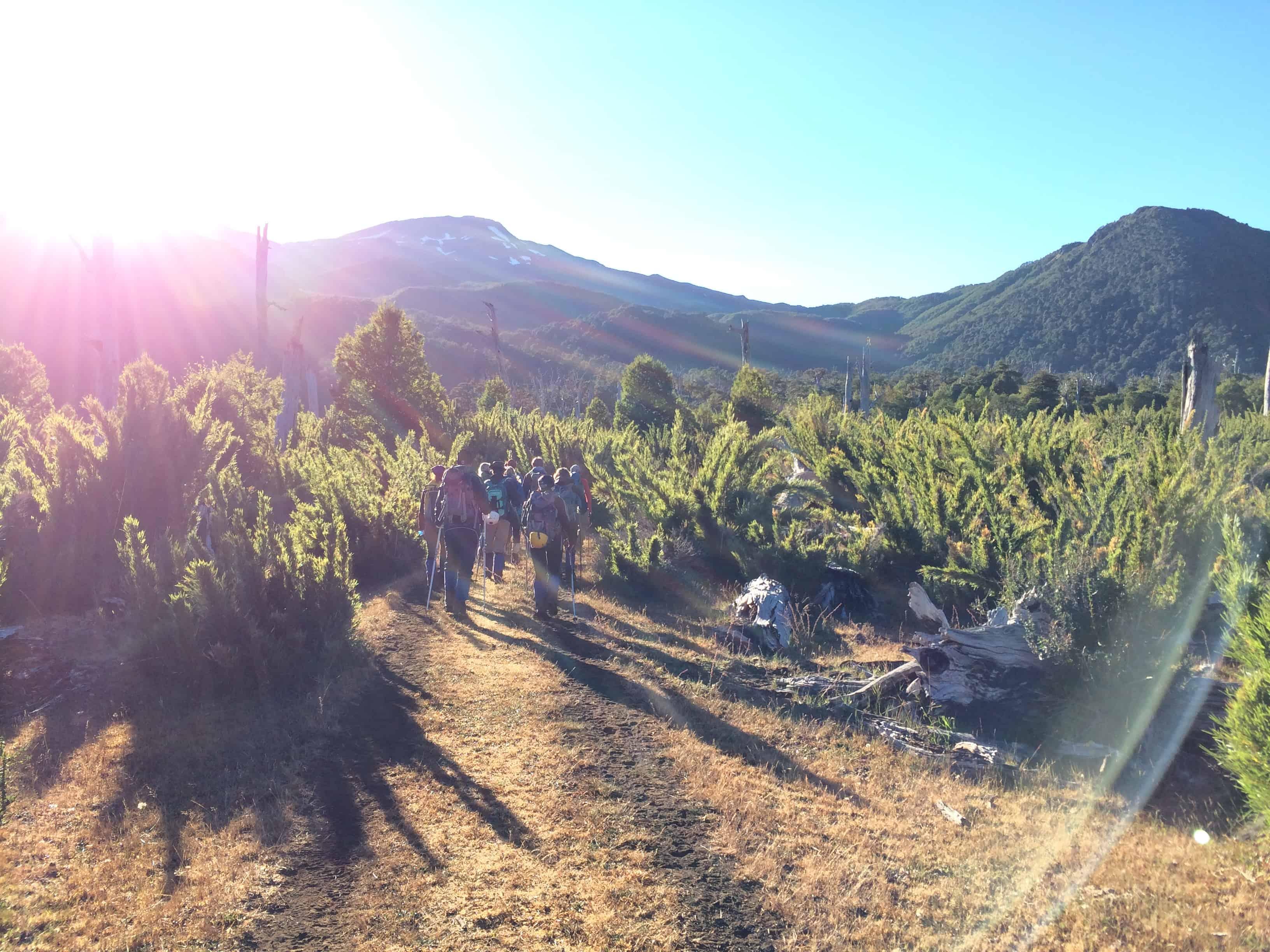 Quetrupillan – die schlechte Alternative zum Vulkan Villarrica? Auf keinen Fall! – Februar 2015