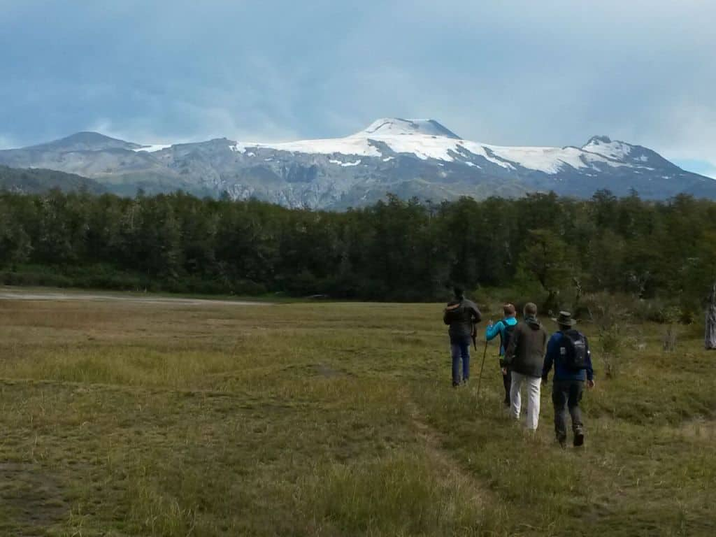 trekking club hiking chile lake volcano 2016 tours