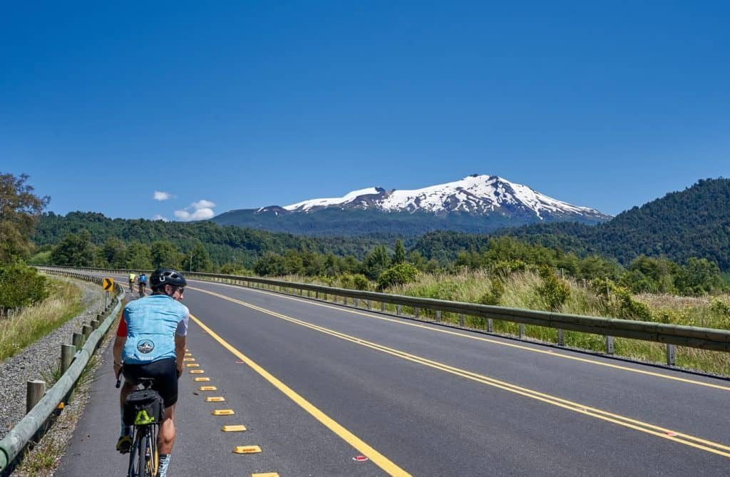 biking southern chile