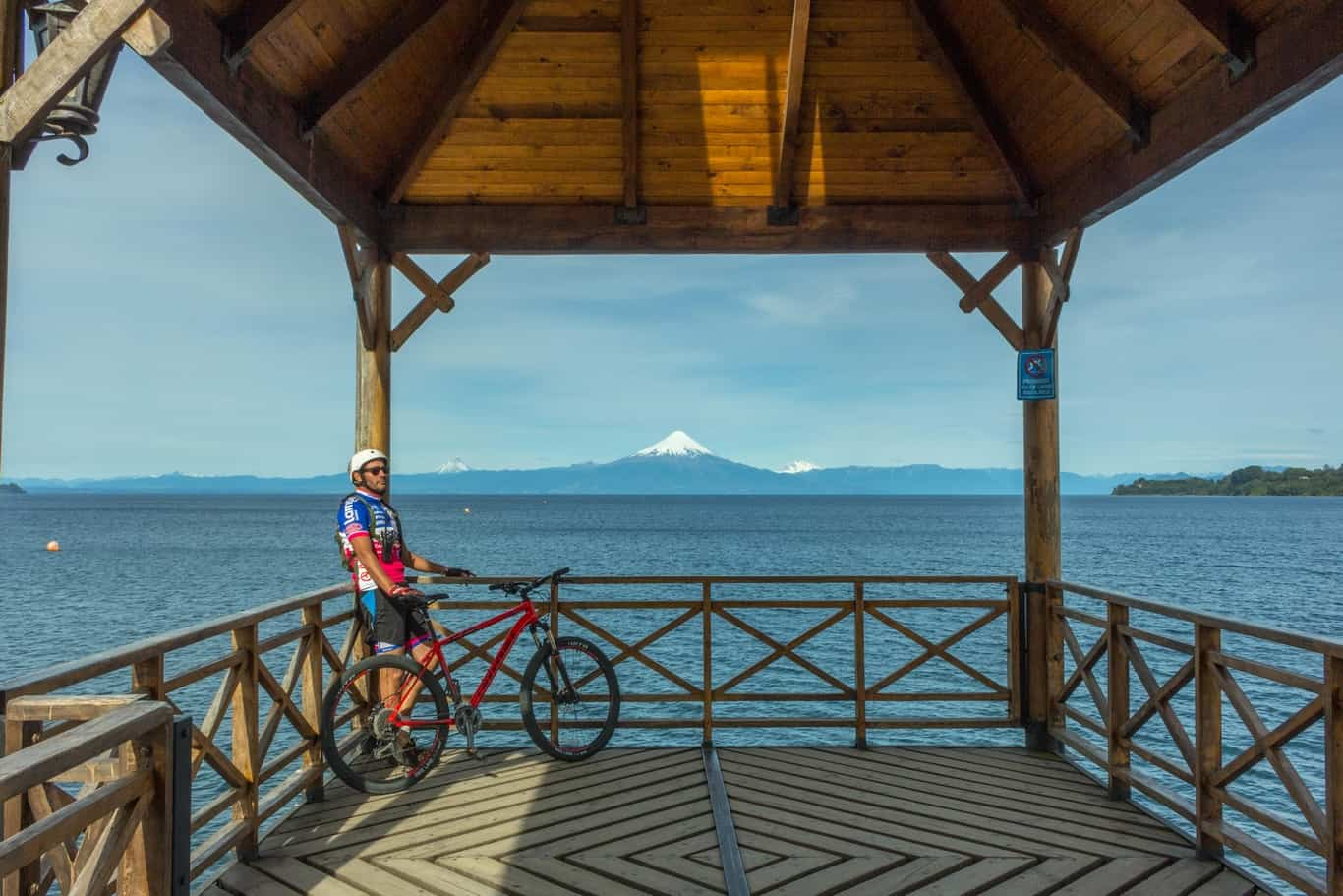 Bike Ride The Lake and Volcano Scenic Route - The German Settlers' Circuit