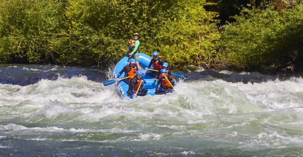 rafting pucon chile