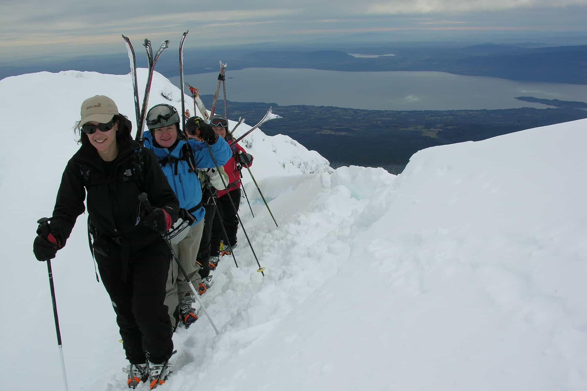 Ski chile pucon