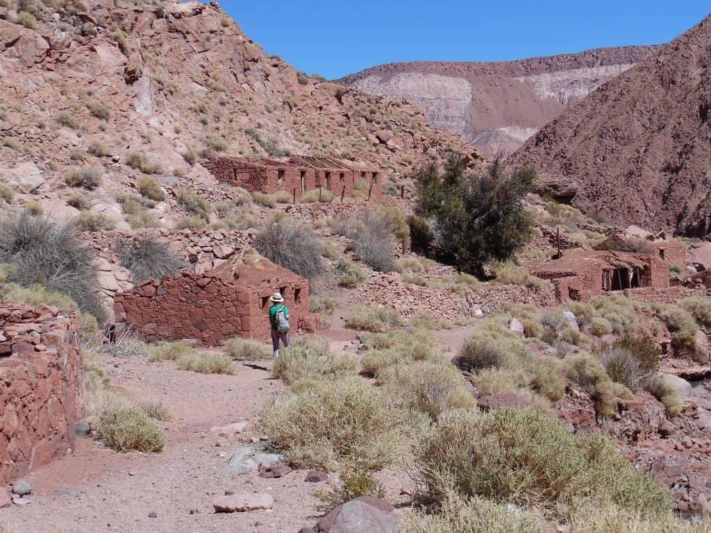 Machuca Rio Grande hike in the Atacama Desert