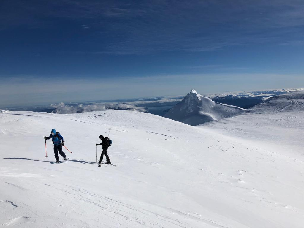 backcountry skiing chile
