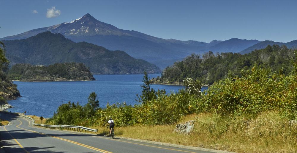 lake volcano road cycling