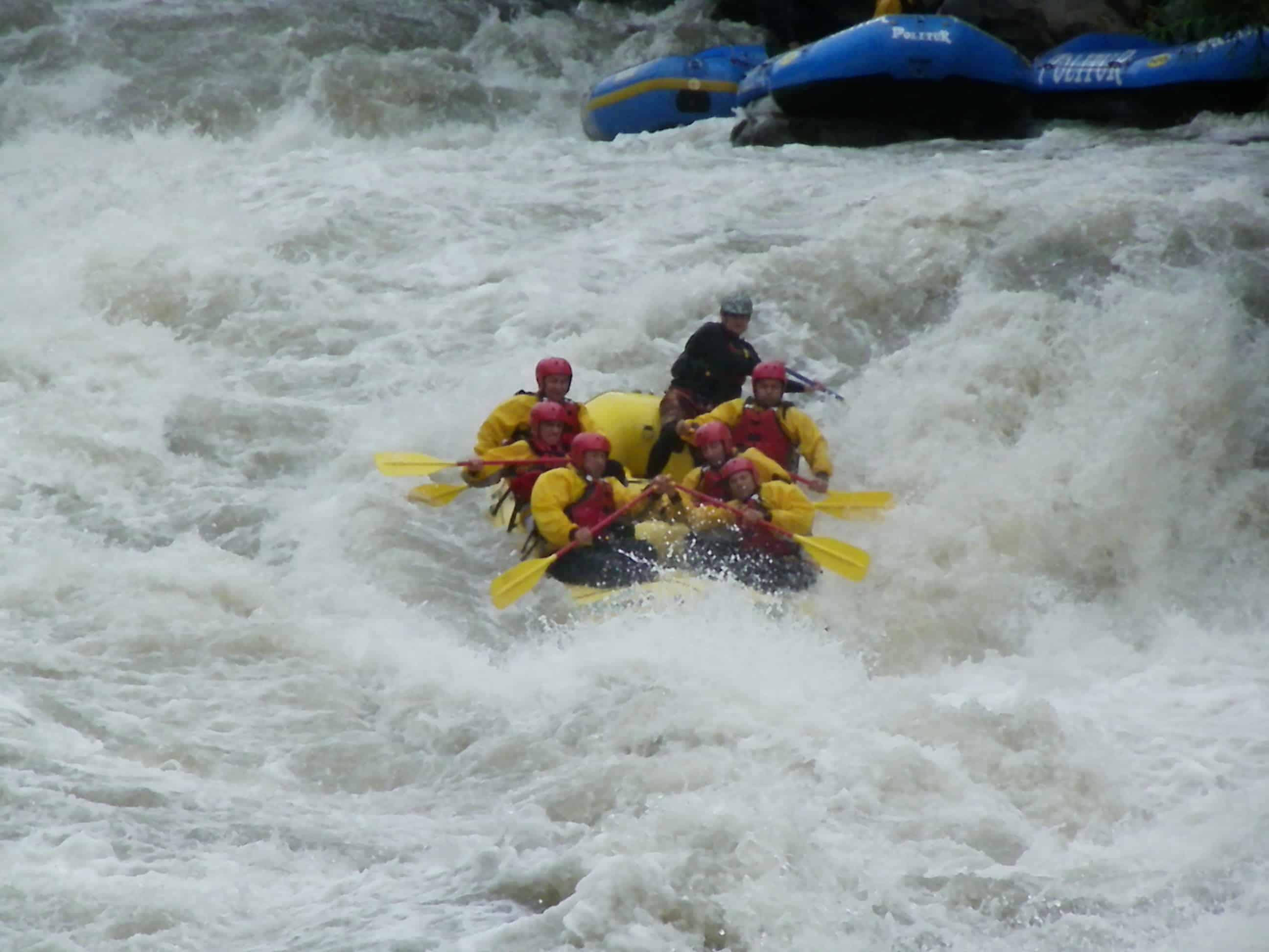 rafting trancura pucon