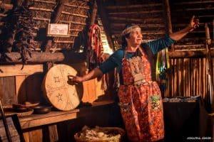 Mapuche Ruka Woman