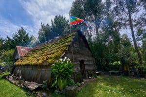 Ruka mapuche traditional house