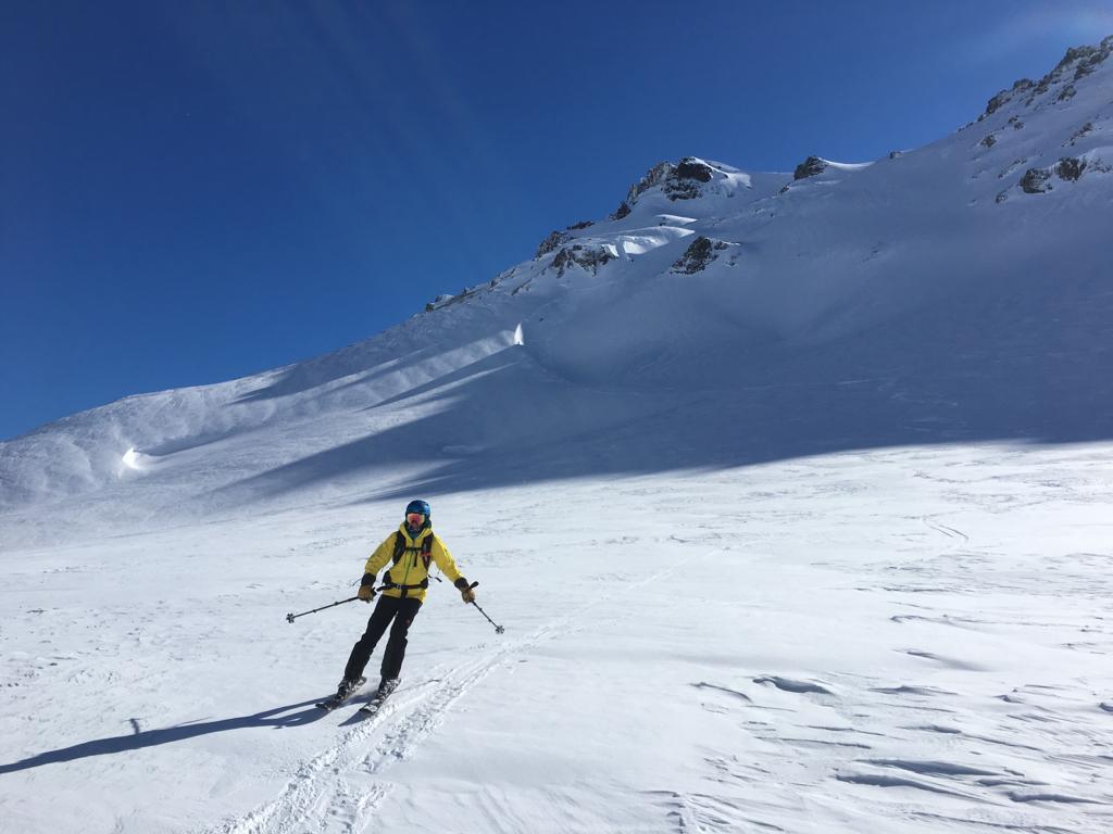 Ski Argentina cerro chanchoco