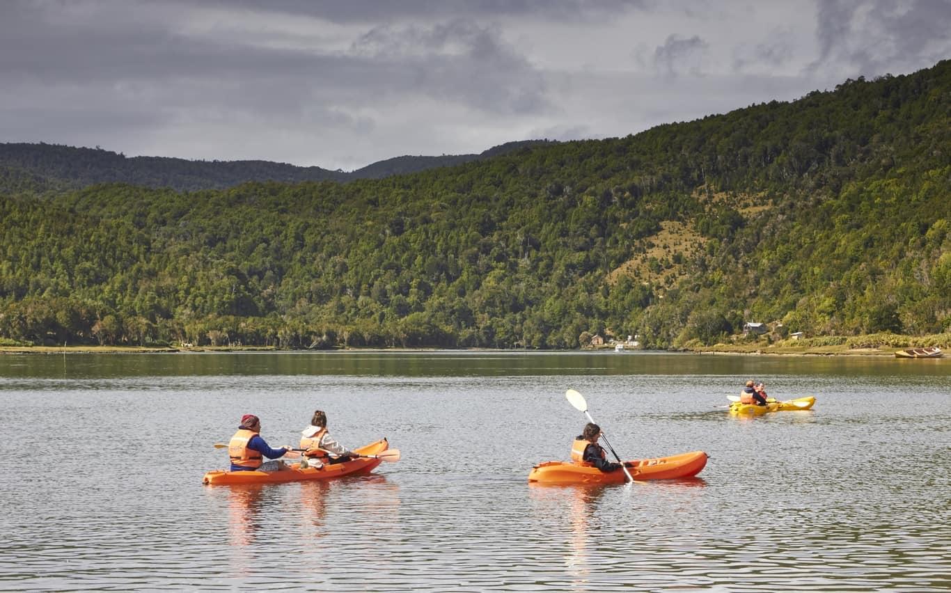 kayaking mapu lahual chile