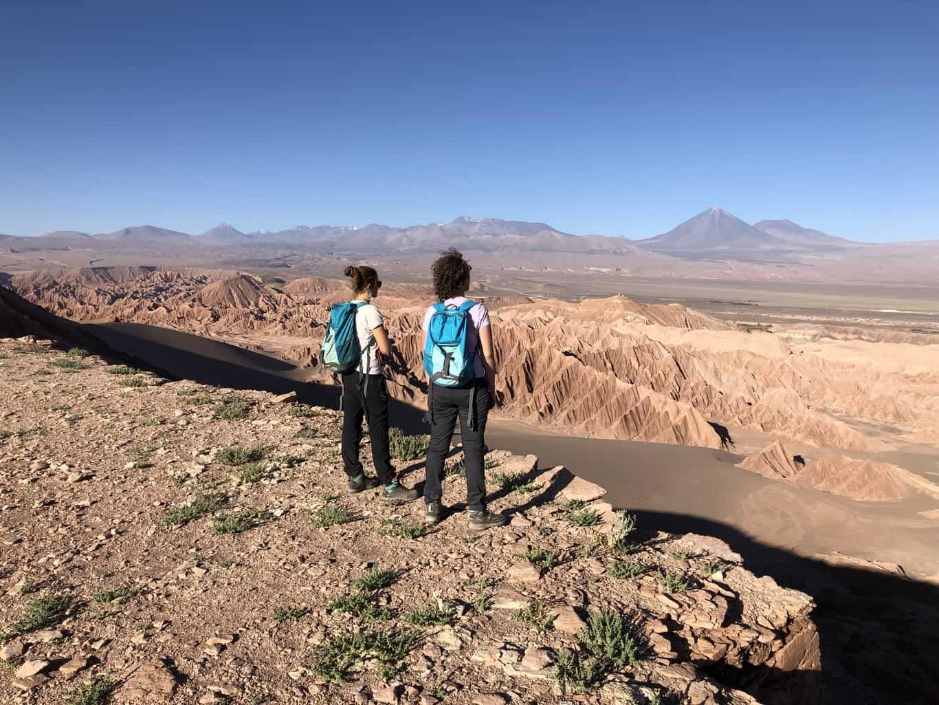 Hiking Atacama Desert