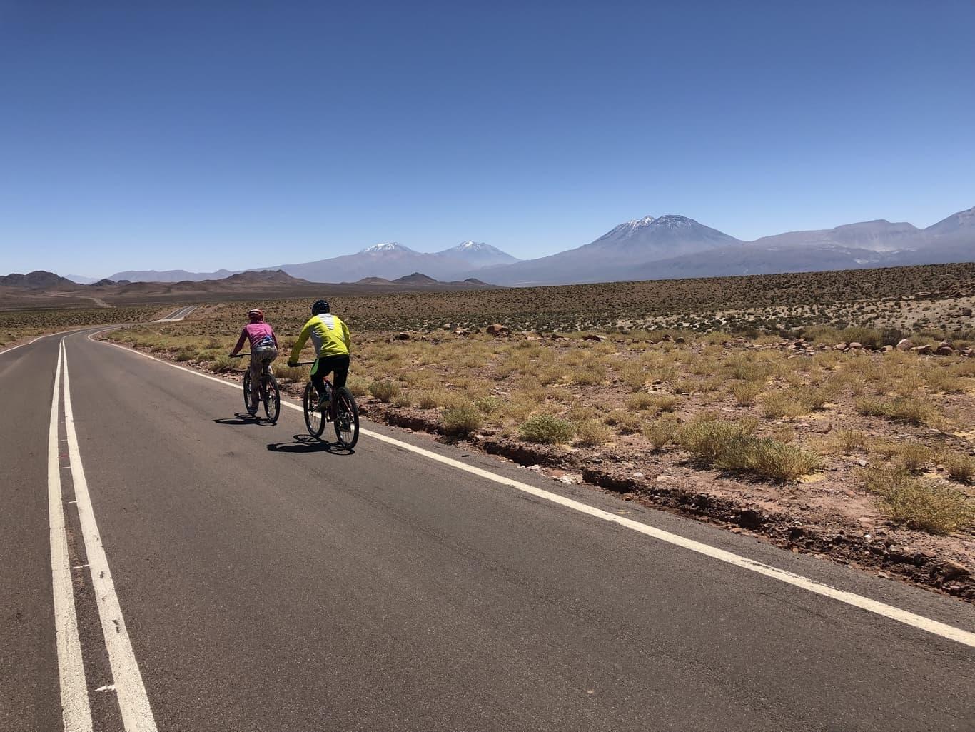 Biking Atacama Desert
