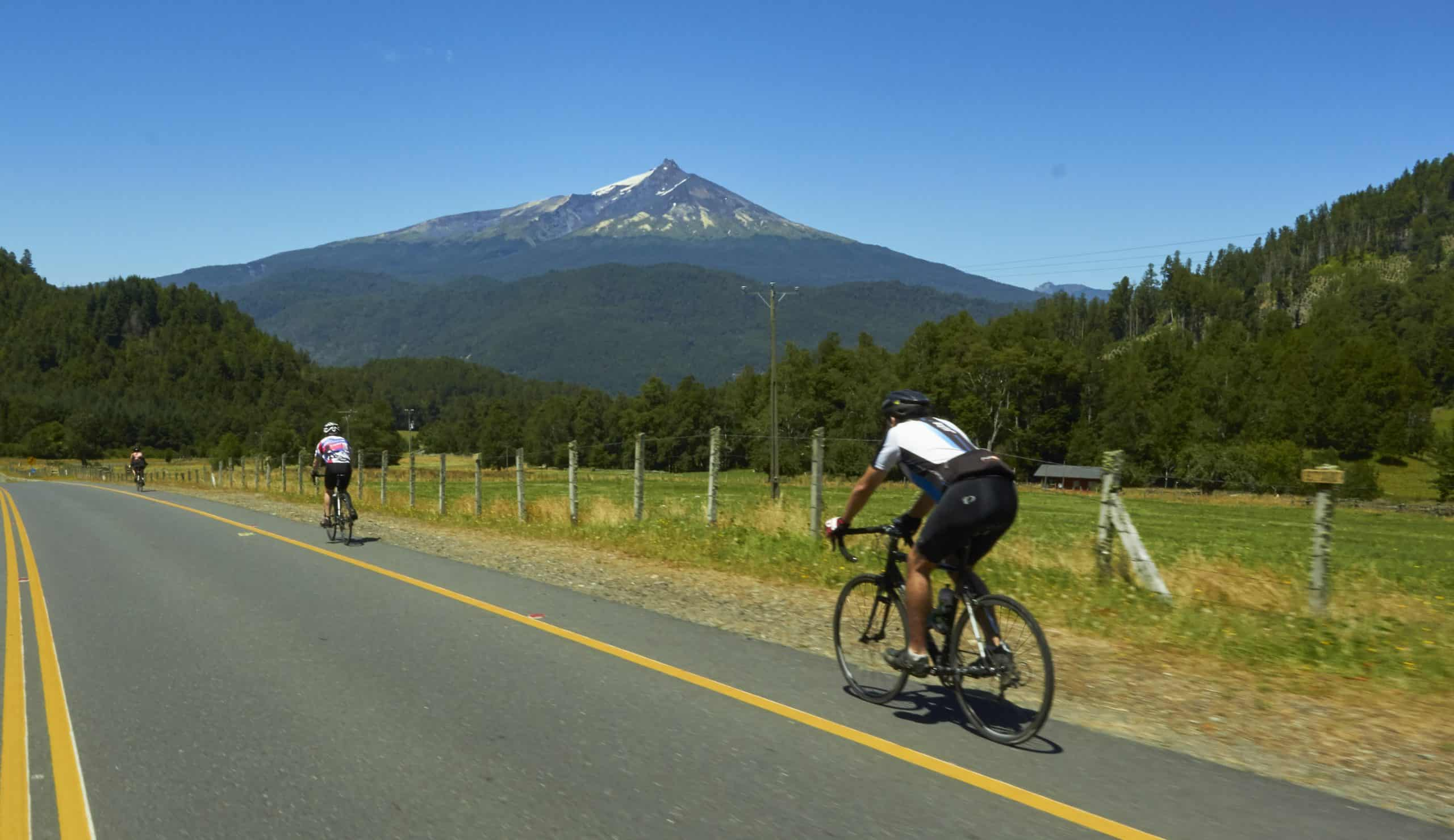 7-Lake Route Ride Southern Chile