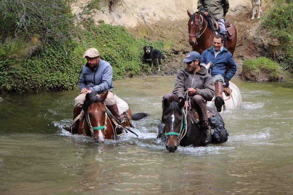 tyndall horseback ride patagonia