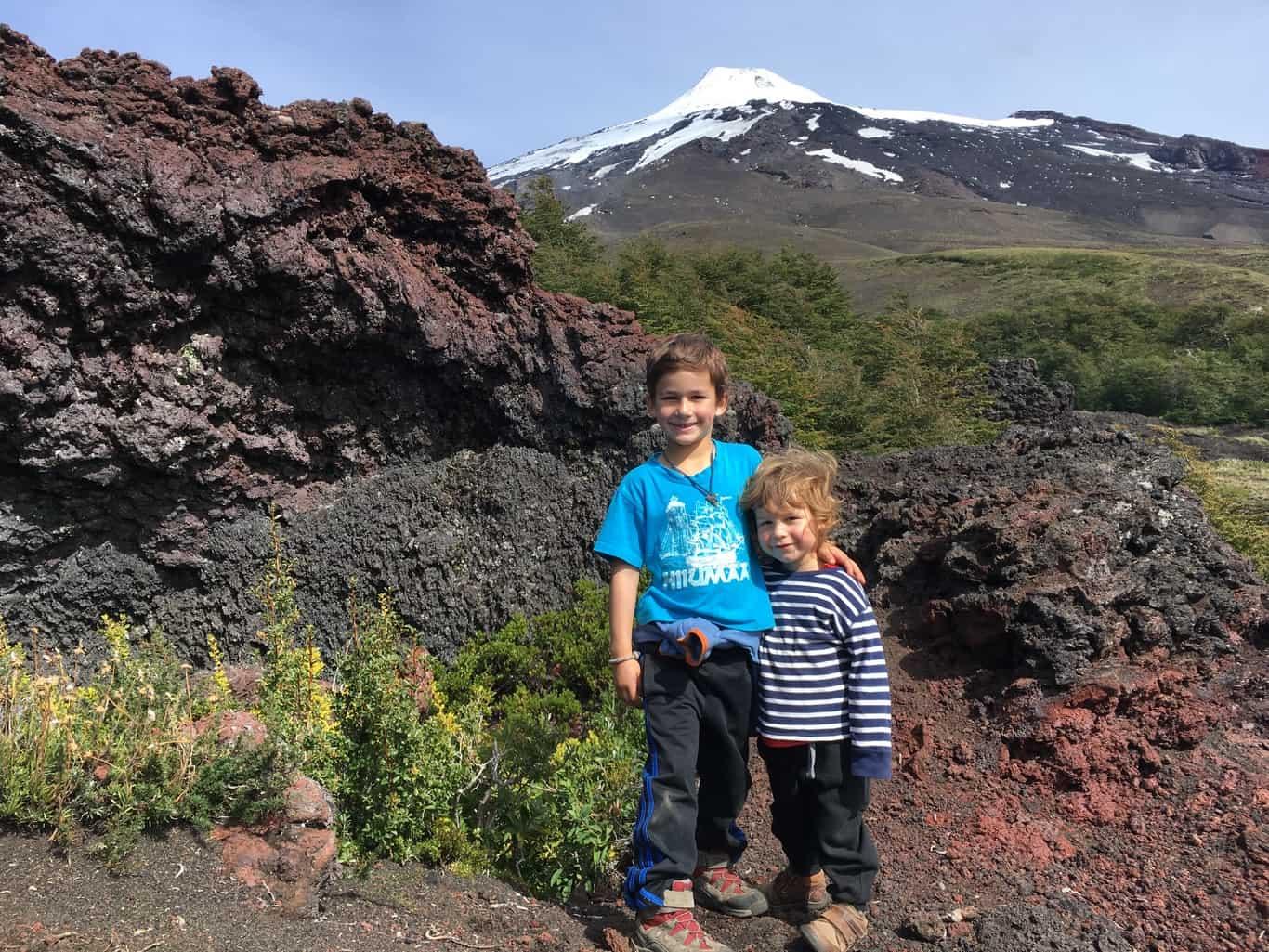 Día 7 - Parque Nacional Villarrica - Sendero Crateres Parasitos