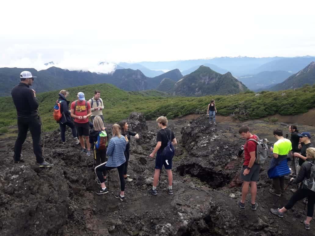 Villarrica National Park - Crateres Parasitos