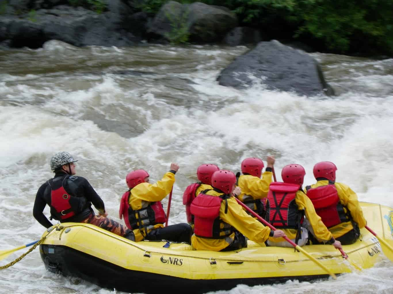 whitewater rafting trancura