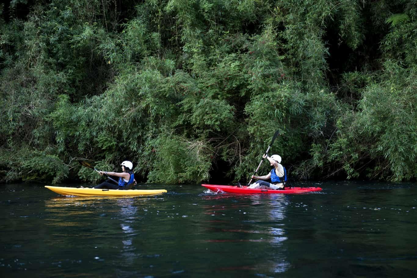 Día 5 - Kayak Laguna Pichi