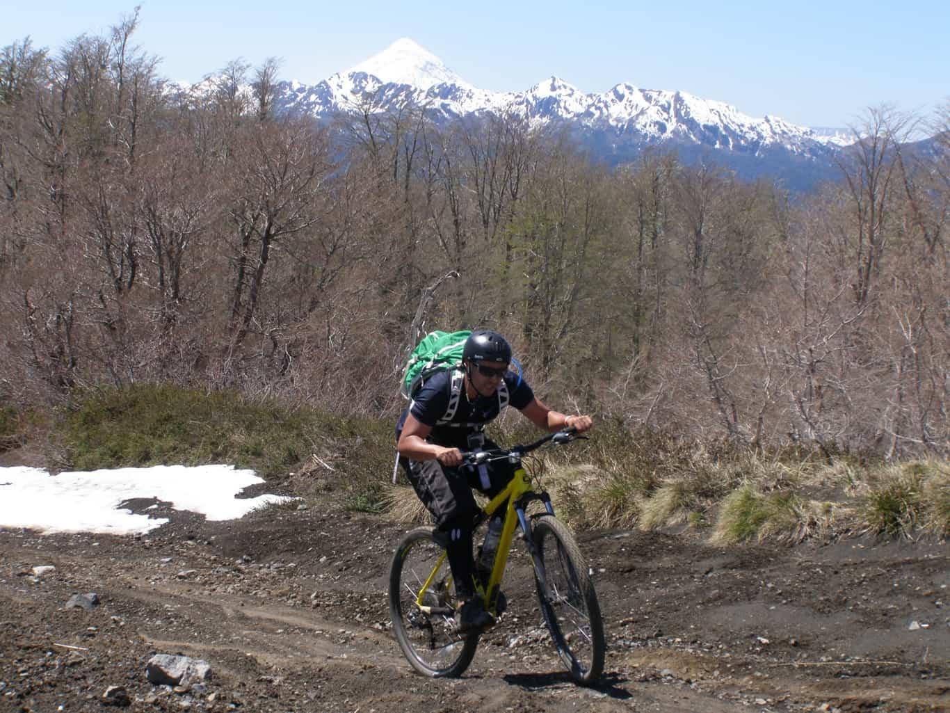 Mountain Bike en Huilo-Huilo