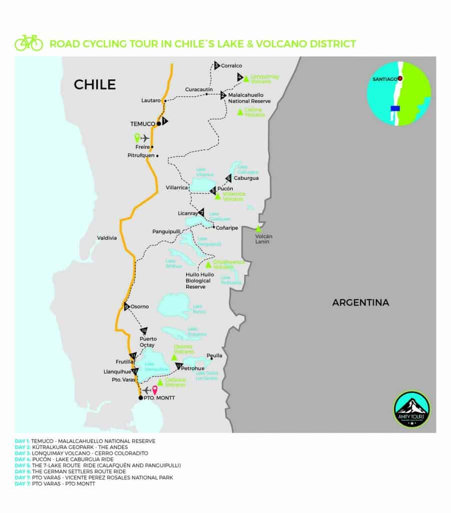 road cycling chile