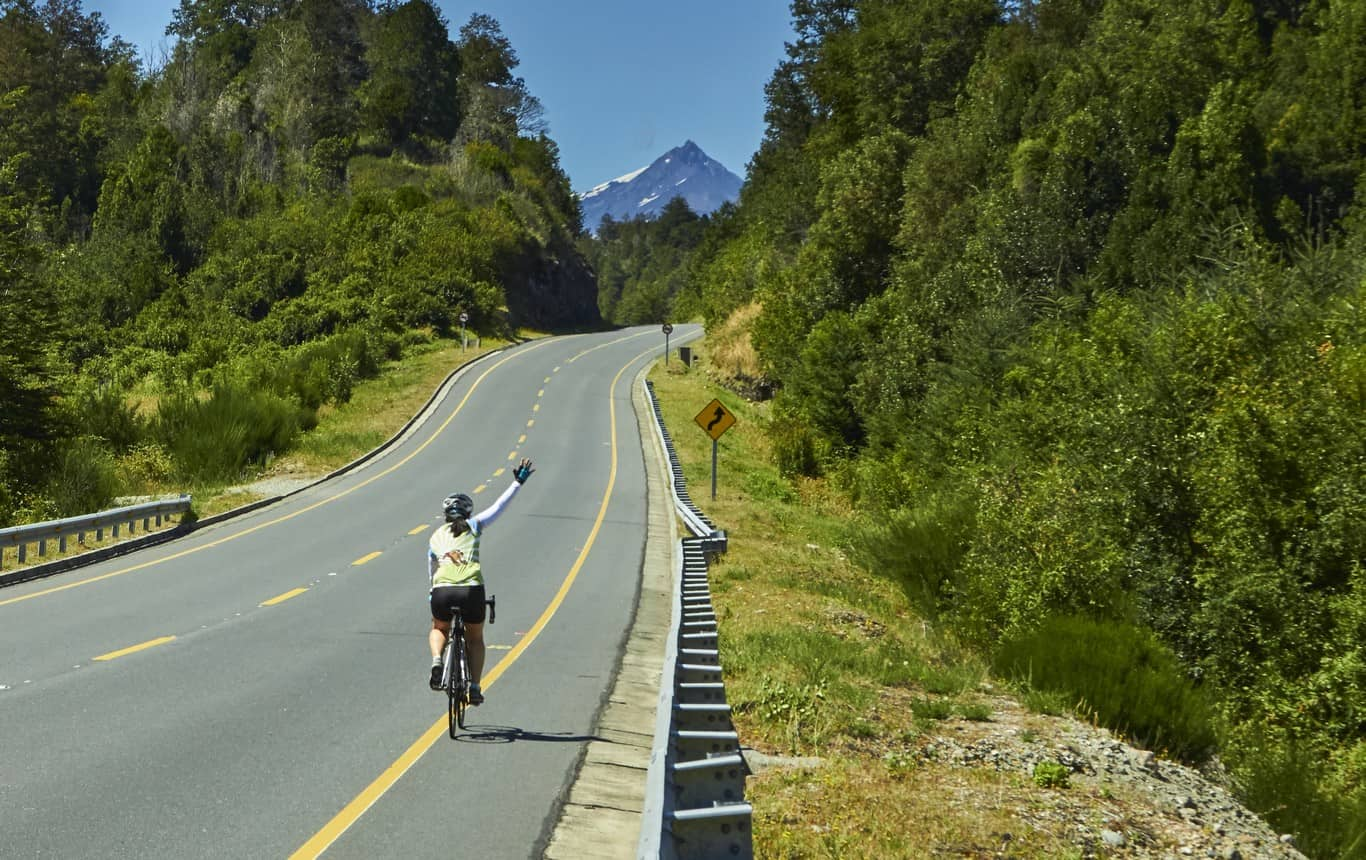 Bike Ride The Lake And Volcano Scenic Route The 7 Lakes Circuit