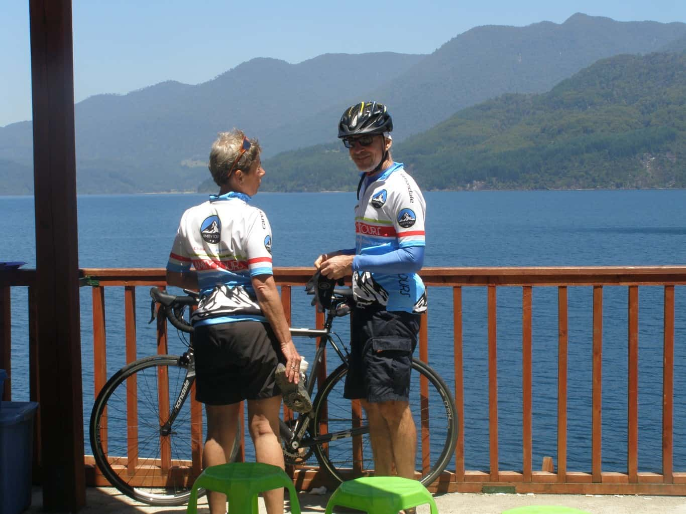 Bike Ride The Lake and Volcano Scenic Route - The 7 Lakes Circuit