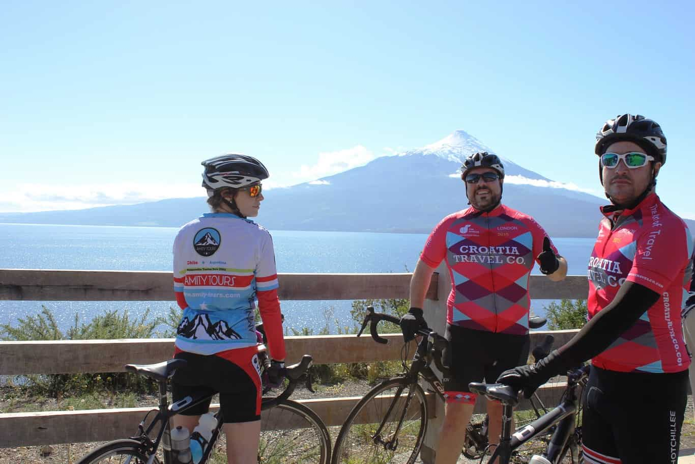 Bike Ride The Lake And Volcano Scenic Route The German Settlers' Circuit