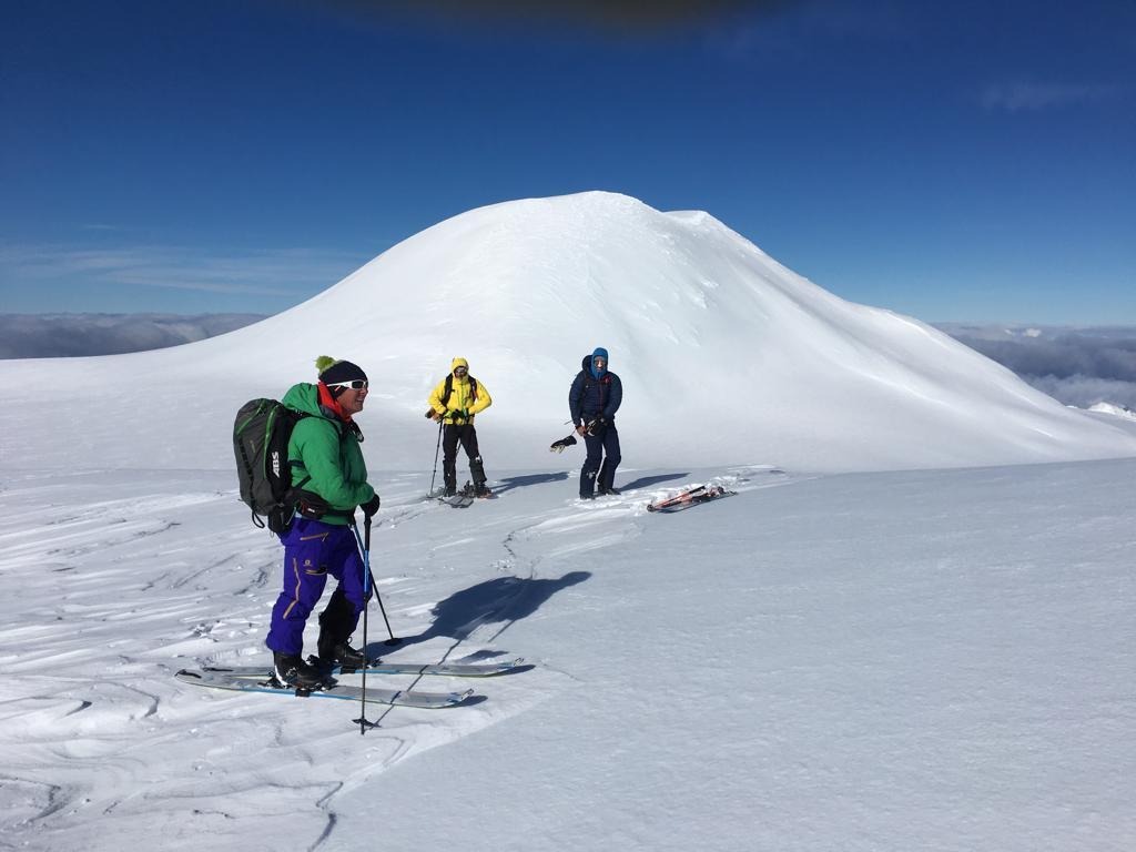 Huilo-Huilo - Choshuenco Volcano