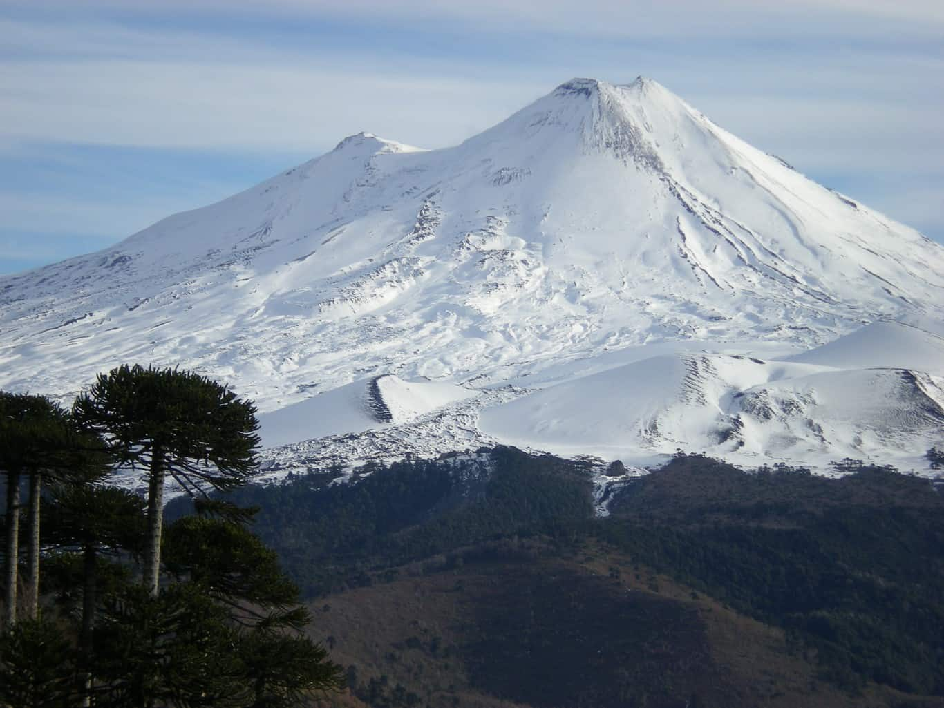 Conguillio National Park - Llaima Volcano