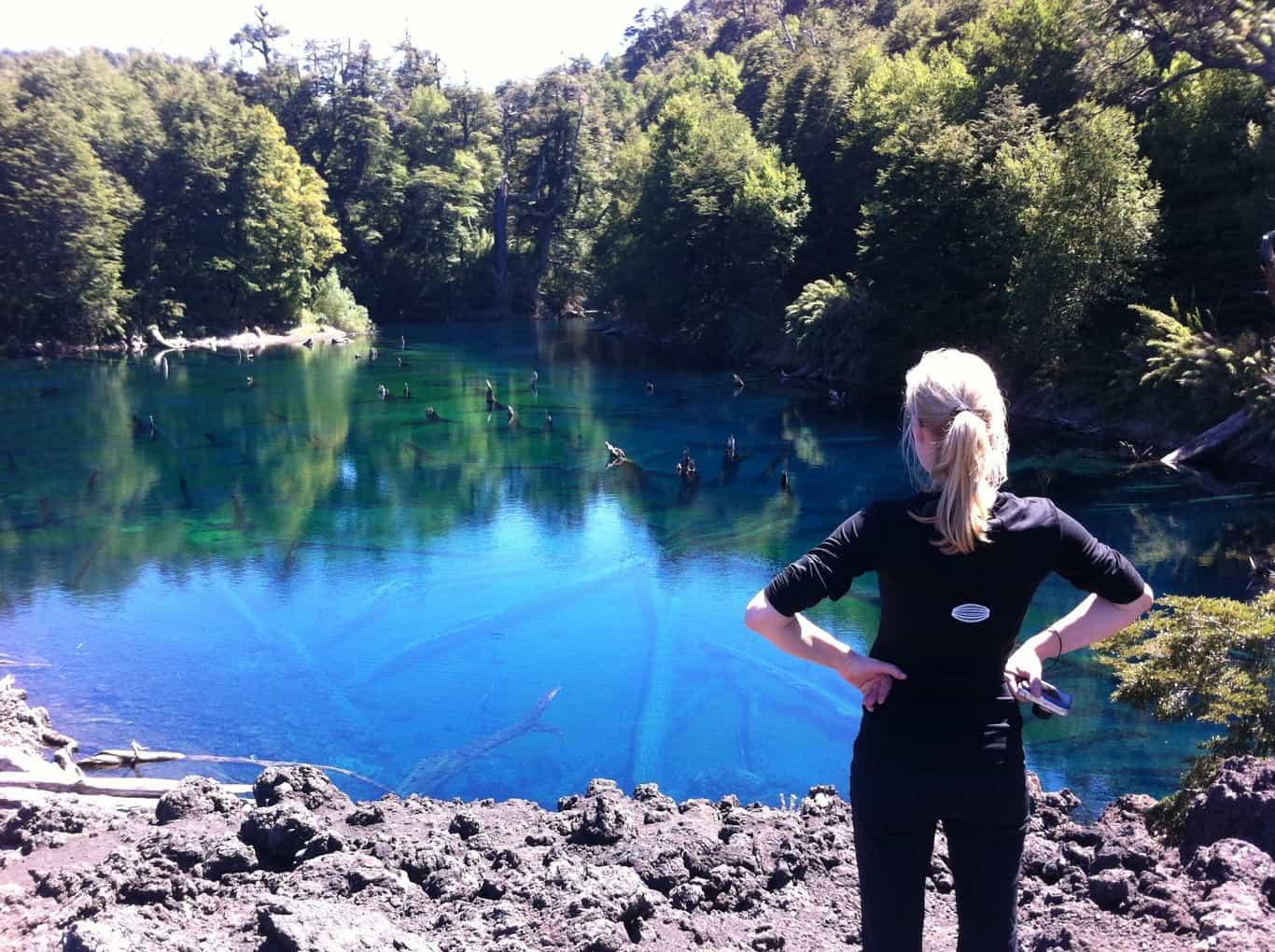 Conguillio National Park - Rainbow Lagoon