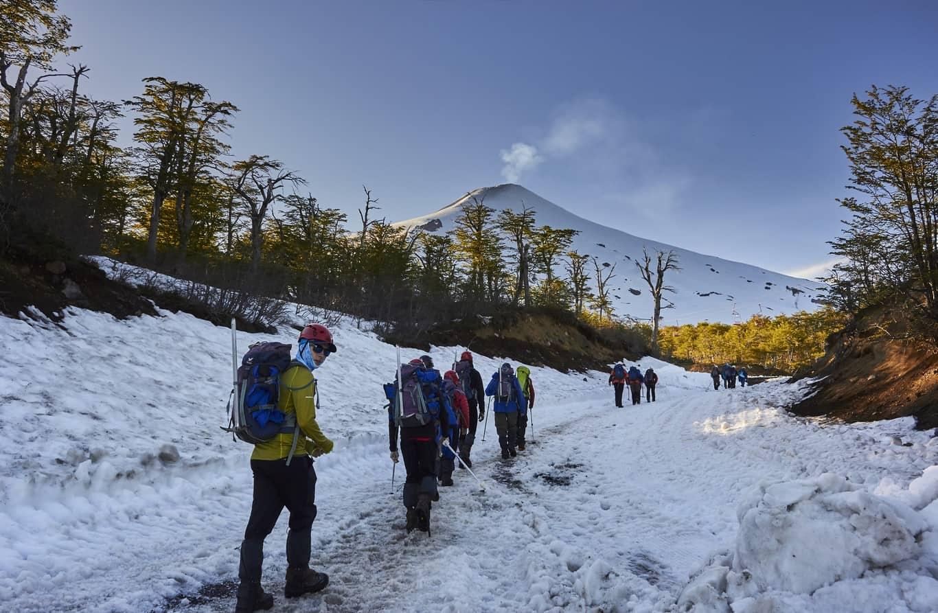 Day 6 - Villarrica Volcano Climb