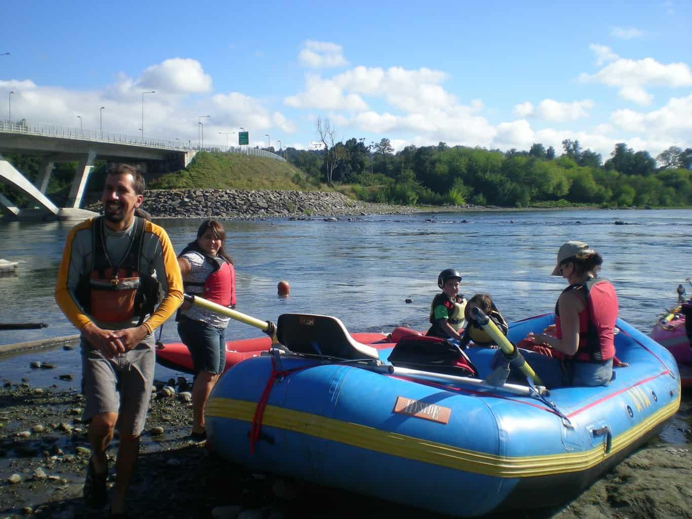 Flotada Río Toltén