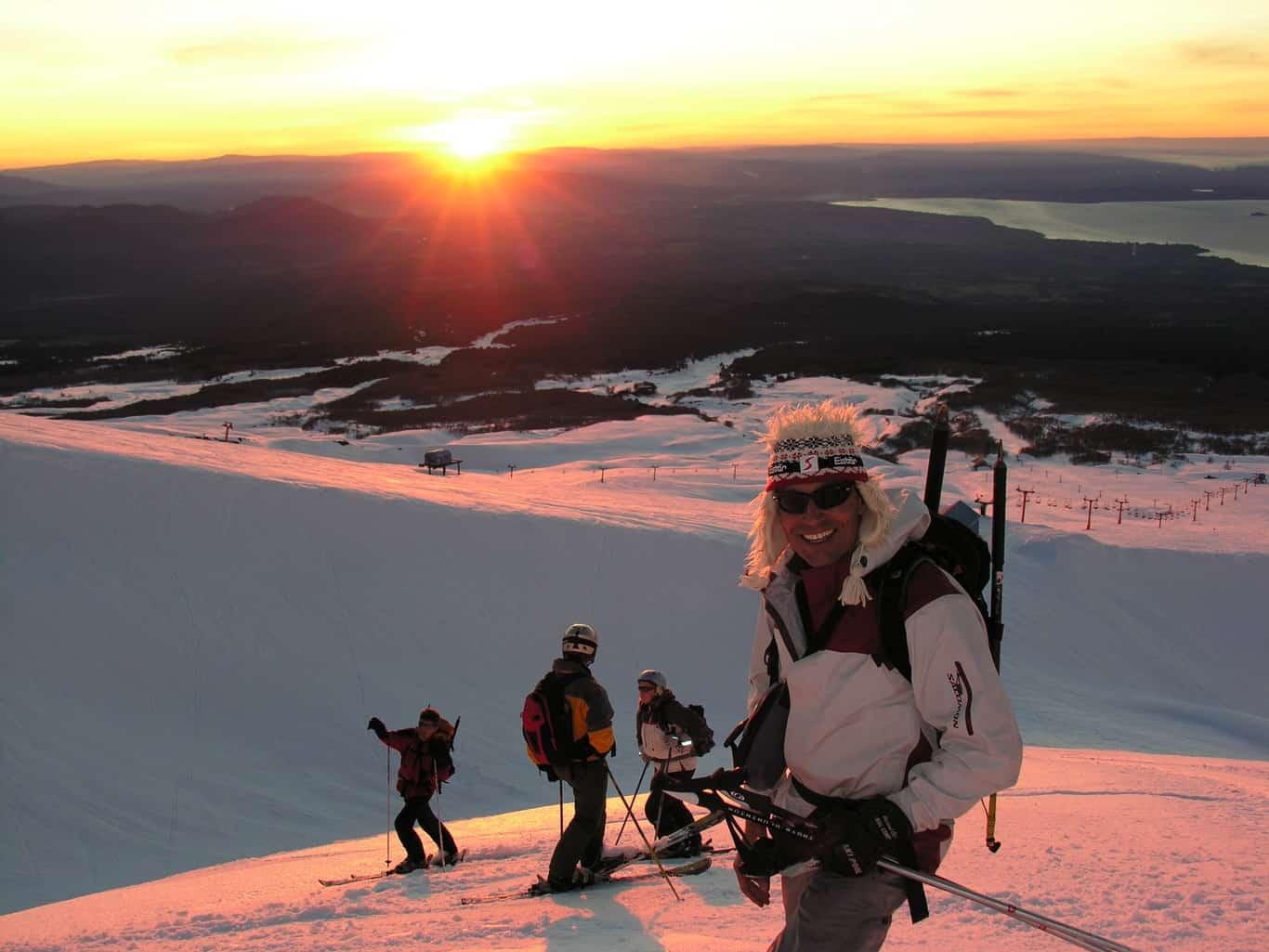 Pucón Ski Resort - Villarrica Volcano Climb