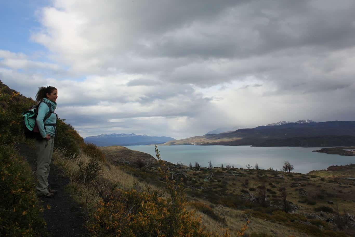 Torres Del Paine National Park Lazo Weber Trail Hike