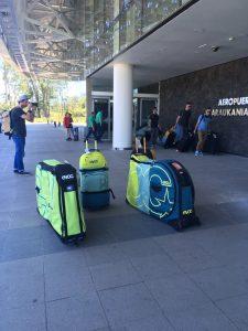 evoc equipaje aeropuerto