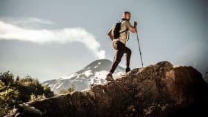 hiking chile lake volcano district