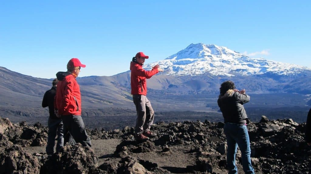 tolhuaca volcano kutralkura geopark chile