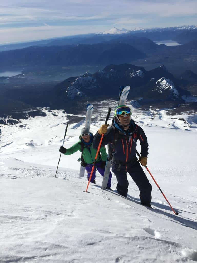 pucon ski volcano