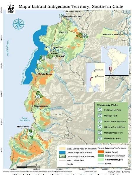 wwf mapu lahual
